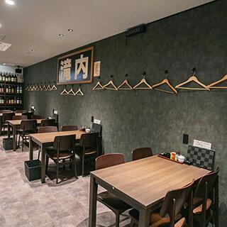 掘りごたつ席や個室も完備された快適空間にリニューアル!