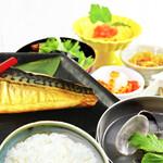 SORA 天空 - 朝食-焼き魚御膳-