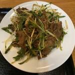 モンゴルレストラン郷 - 羊肉クミンパウダー炒め