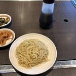 本格豚骨ラーメン 恵壱 - 替玉、ラーメン出汁。