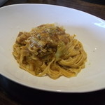 Wine&Pasta食堂  Tanaka - Wine&Pasta食堂TANAKA・ひき肉とキャベツのタリオリーニ¥680