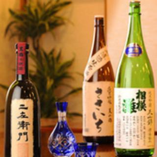 店主こだわりの日本酒!