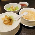 Kantonryouriminsei - タロウはお粥大好き♡             蒸し炒飯なんか…             嫌いだぁ〜