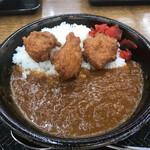 道の駅 湯の川 - 料理写真:唐揚げ生姜カレー