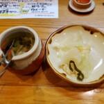 東岡崎 明月 - 美味しいキャベツ