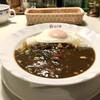 カレーショップ山小屋 - 料理写真:野菜カレー with 目玉焼き