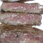 ガストーラ - 道産和牛ステーキとピラフのセット 肉200gのステーキ