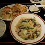 龍伸 - ボリュームがいい。ご飯が多い。