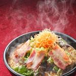 麺's - 料理写真:常連人気No.1 ベーコンスパイシー