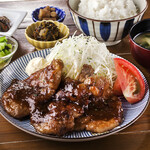 みやざき生姜使用 豚肩ロース生姜焼き定食