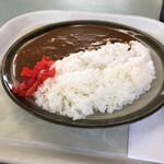 葛の湯 - 料理写真:受付さんオススメのカレー