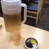 たけふく - 料理写真:先に出されるお茶と漬物