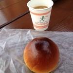 ピーターパン 小麦の丘店 - あんぱん&無料コーヒー