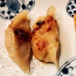 菜香餃子房 - 焼き餃子5個(税別500円)