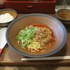 トモル - 料理写真:広島汁なし担担麺セット700円