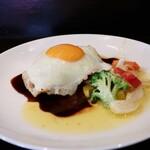 食堂 コラボ - 料理写真:ハンバーグランチ