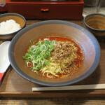 トモル - 広島汁なし担担麺セット700円