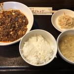 チリレンゲ - 麻婆豆腐ランチ