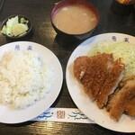 燕楽 - 料理写真:ロースカツ定食950円(2020.9.2)
