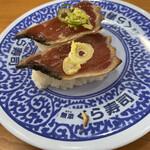 無添くら寿司 - 料理写真:「ゆず塩かつおたたき」100円税抜き