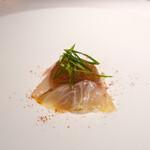 136827171 - 真鯛の燻製カルパッチョ