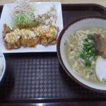 ちゅら浜食堂 - チキン南蛮×沖縄そば定食