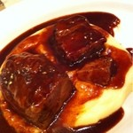 13683716 - 牛バラ肉の赤ワイン煮込み