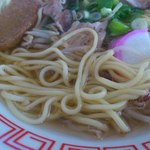 青野屋 - 中細ストレート麺