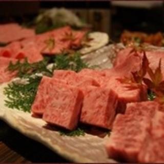 【コース】極上のお肉を贅沢にお楽しみ頂ける内容です!!