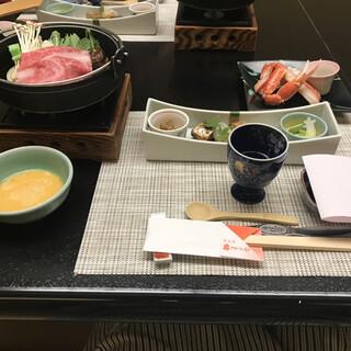 佳泉郷井づつや - 料理写真:夕食(着席時)