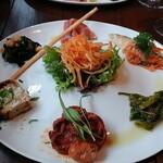 Osuteriayururi - 前菜盛り