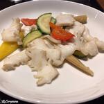 中国料理 空 - イカの夏野菜炒め