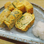 七福 - ネギ玉子焼き