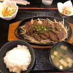 Wameshiyautano - さがり鉄板定食