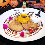 Cafe Kaila  - 料理写真:ハロウィンチョコレートパンケーキ