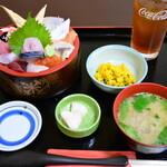 魚亭 岡ざき - 特選ちらし(ランチ)