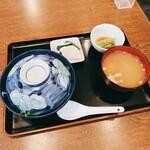 銀座ホール - 純レバ丼 860円