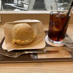 名古屋天狼院 - ふわふわ白パンのたまごサンド