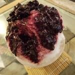Bombeibaza - かき氷ブルーベリー