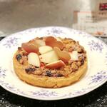グランサンク - 芳醇な香り アップルチーズパイ@甘酸っぱいアップルとザクザククランブルがたまらない