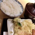 てんぷら食堂 ひさご - ひさご天ぷら定食