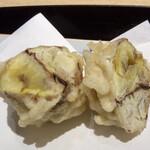 てんぷら食堂 ひさご - 栗の天ぷら