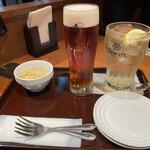 RAIL - サワークラウト300円 ヱビス樽生ビール550円 ハイボール500円