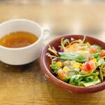 WWW. W - スープとサラダ