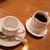 ブラジレイロ - クラシック・ブレンド。珈琲とデミタスカップが別々にでてきます。