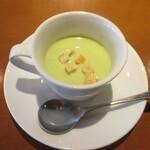 136871043 - グリーンピースのスープ