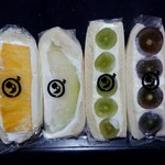 ダイワスーパー - フルーツサンド5種&玉子サンド