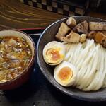 136877555 - つけ麺(小)800円+特製トッピング300円