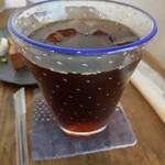 そら豆ガラス商店 - ドリンク写真:アイスコーヒー