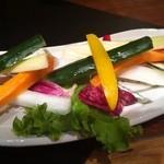 13688423 - バーニャカウダーの野菜